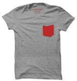 Venice Grey and Red T-Shirt