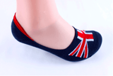 Vintage Britain Loafer Socks
