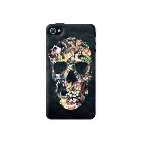 Vintage Skull iPhone 4/4S Case
