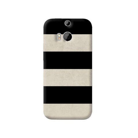 Vintage Stripes HTC One M8 Case