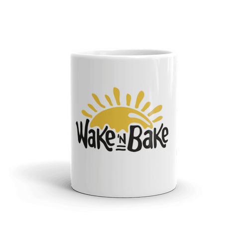 Wake n Bake Coffee Mug