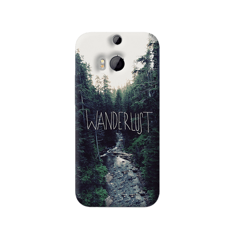 Wanderlust HTC One M8 Case