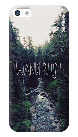 Wanderlust iPhone 5C Case