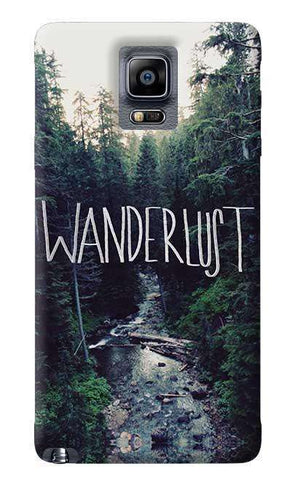 Wanderlust Samsung Galaxy Note 4 Case