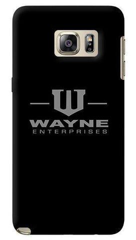 Wayne Enterprises   Samsung Galaxy Note 5 Case