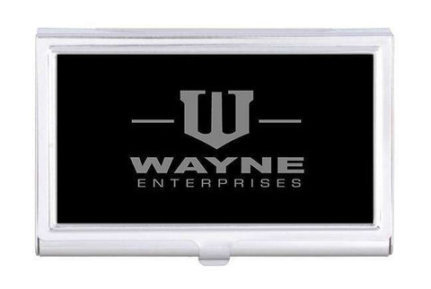 Wayne Enterprises Business Card Holder