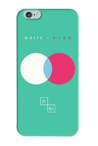White + Pink   Apple iPhone 6/6S Case