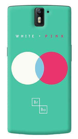 White + Pink   Oneplus One