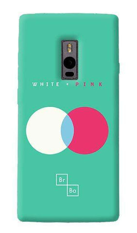 White + Pink   OnePlus Two Case