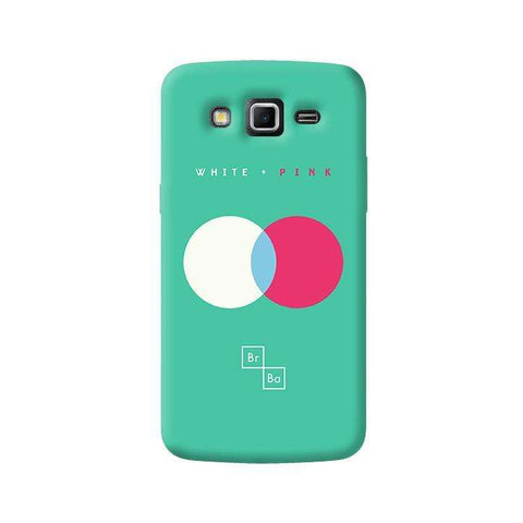 White + Pink   Samsung Galaxy Grand 2 Case