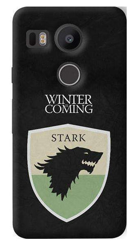 Winter Is Coming   Nexus 5X Case
