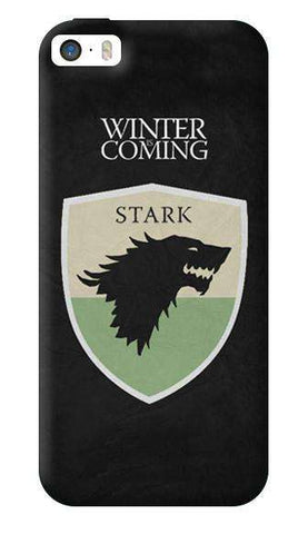 Winter Is Coming Apple iPhone 5/5S Case