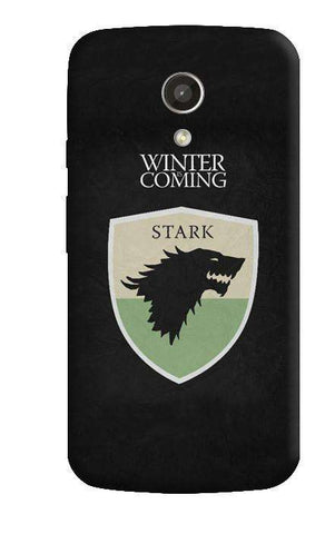 Winter is Coming Motorola Moto G 2nd Gen Case