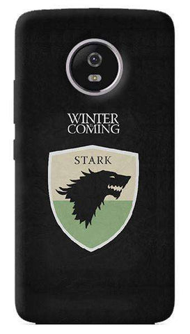 Winter Is Coming Motorola Moto G5 Plus Case