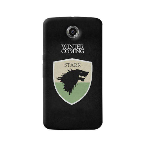 Winter is Coming Nexus 6 Case