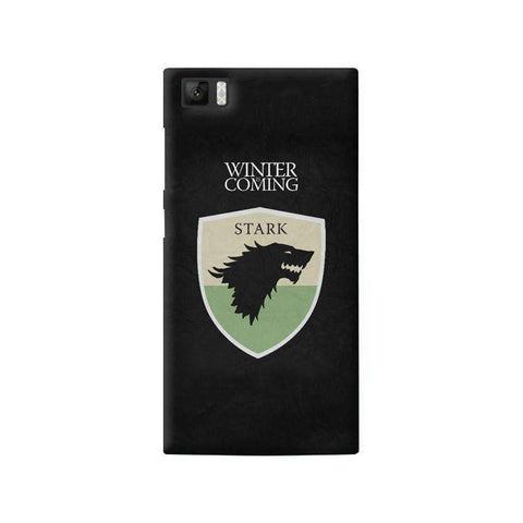Winter is Coming Xiaomi Mi3 Case