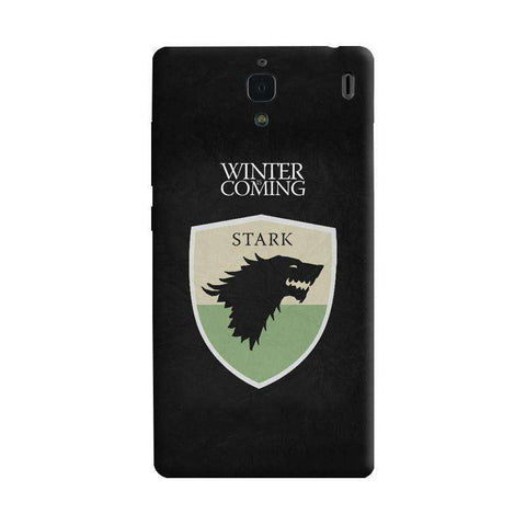Winter is Coming Xiaomi Redmi 1S Case