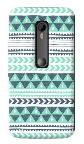 Winter Stripes   Motorola Moto G 3rd Gen Case