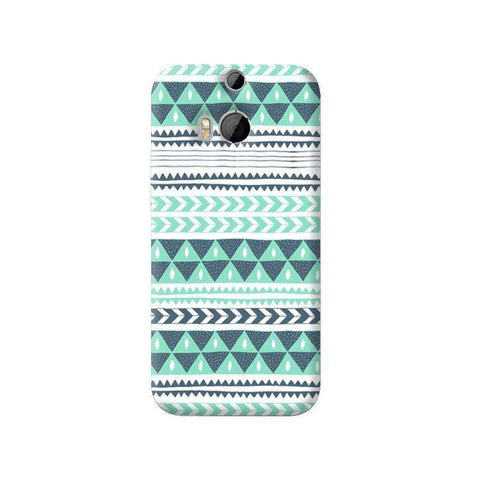 Winter Stripes HTC One M8 Case