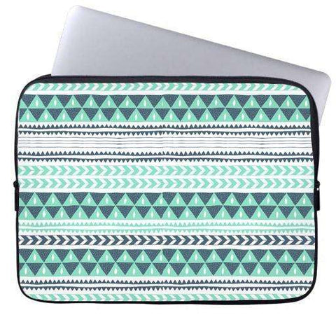 Winter Stripes Laptop Sleeve