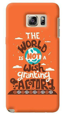 Wish Granting Factory  Samsung Galaxy Note 5 Case