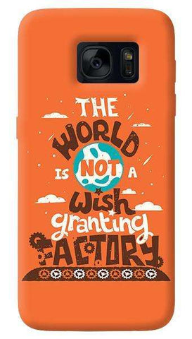 Wish Granting Factory  Samsung Galaxy S7 Case
