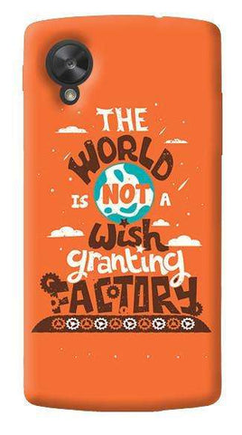 Wish Granting Factory LG Nexus 5 Case