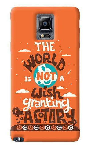 Wish Granting Factory Samsung Galaxy Note 4 Case