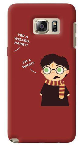 Wizard Harry  Samsung Galaxy Note 5 Case