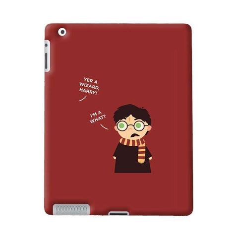 Wizard Harry Apple iPad Case