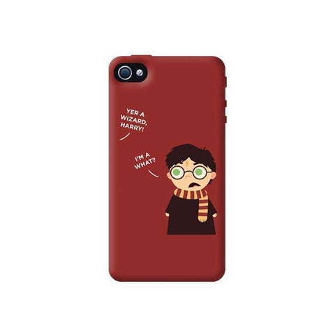 Wizard Harry Apple iPhone 4/4S Case