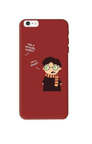 Wizard Harry Apple iPhone 6 Plus Case