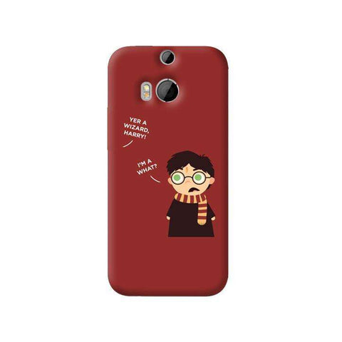Wizard Harry HTC One 8 Case