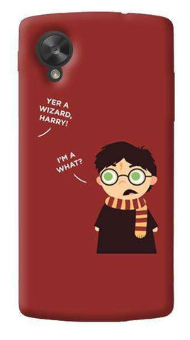 Wizard Harry LG Nexus 5 Case