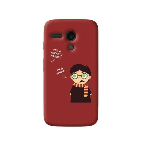 Wizard Harry Motorola Moto G Case