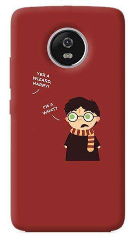 Wizard Harry Motorola Moto G5 Plus Case