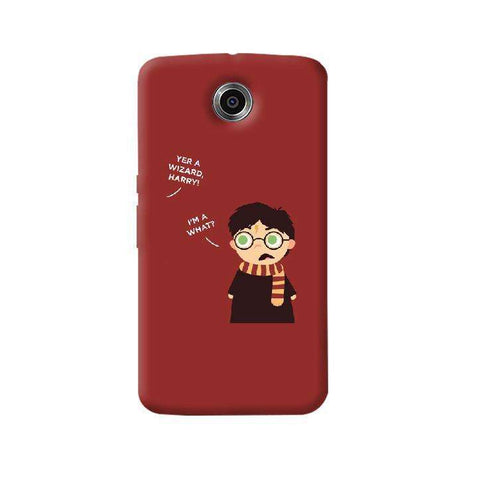 Wizard Harry Nexus 6 Case