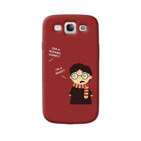 Wizard Harry Samsung Galaxy S3 Case
