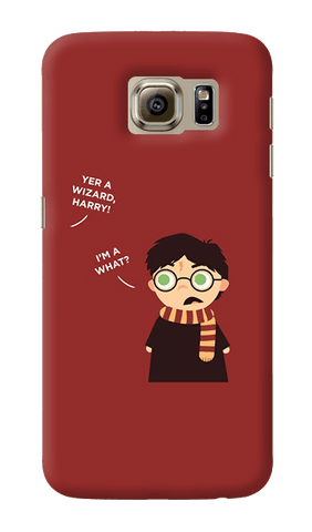 Wizard Harry Samsung Galaxy S6 Case