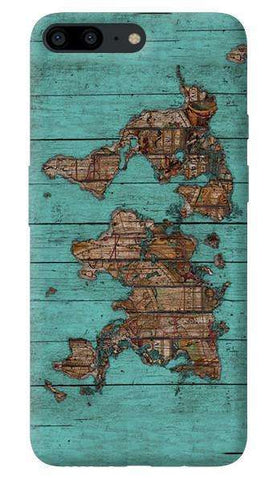 Wood Map Oneplus 5 Case