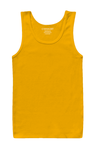 Yellow BasicTank Top