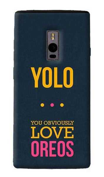 the best attitude 6bcd6 ae444 Yolo OnePlus Two Case