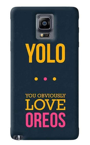 Yolo  Samsung Galaxy Note 4 Case