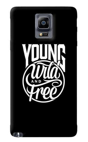 Young Wild & Free Samsung Galaxy Note 4 Case