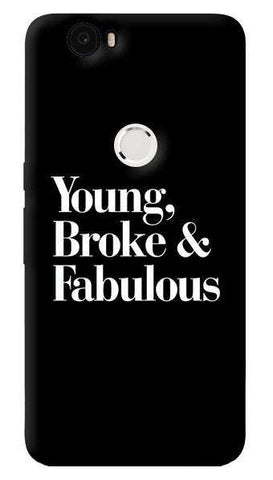 Young, Broke & Fabulous  Nexus 6P Case
