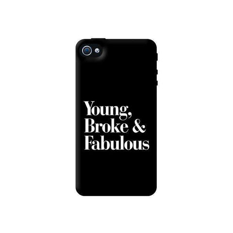 Young, Broke & Fabulous Apple iPhone 4/4S Case