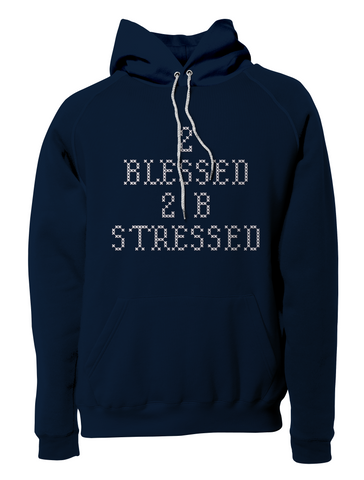2 Blessed Pullover Hoodie