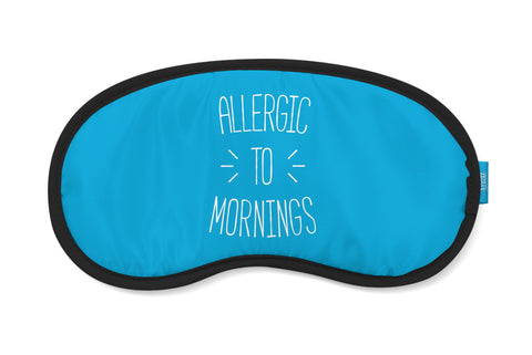 Allergic To Mornings Eye Mask