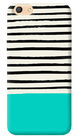 Aqua Stripes iPhone 8 Cover