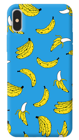 Banana Print iPhone X Cover